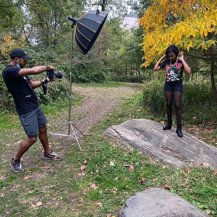Preview of my first photo shoot in Central Park