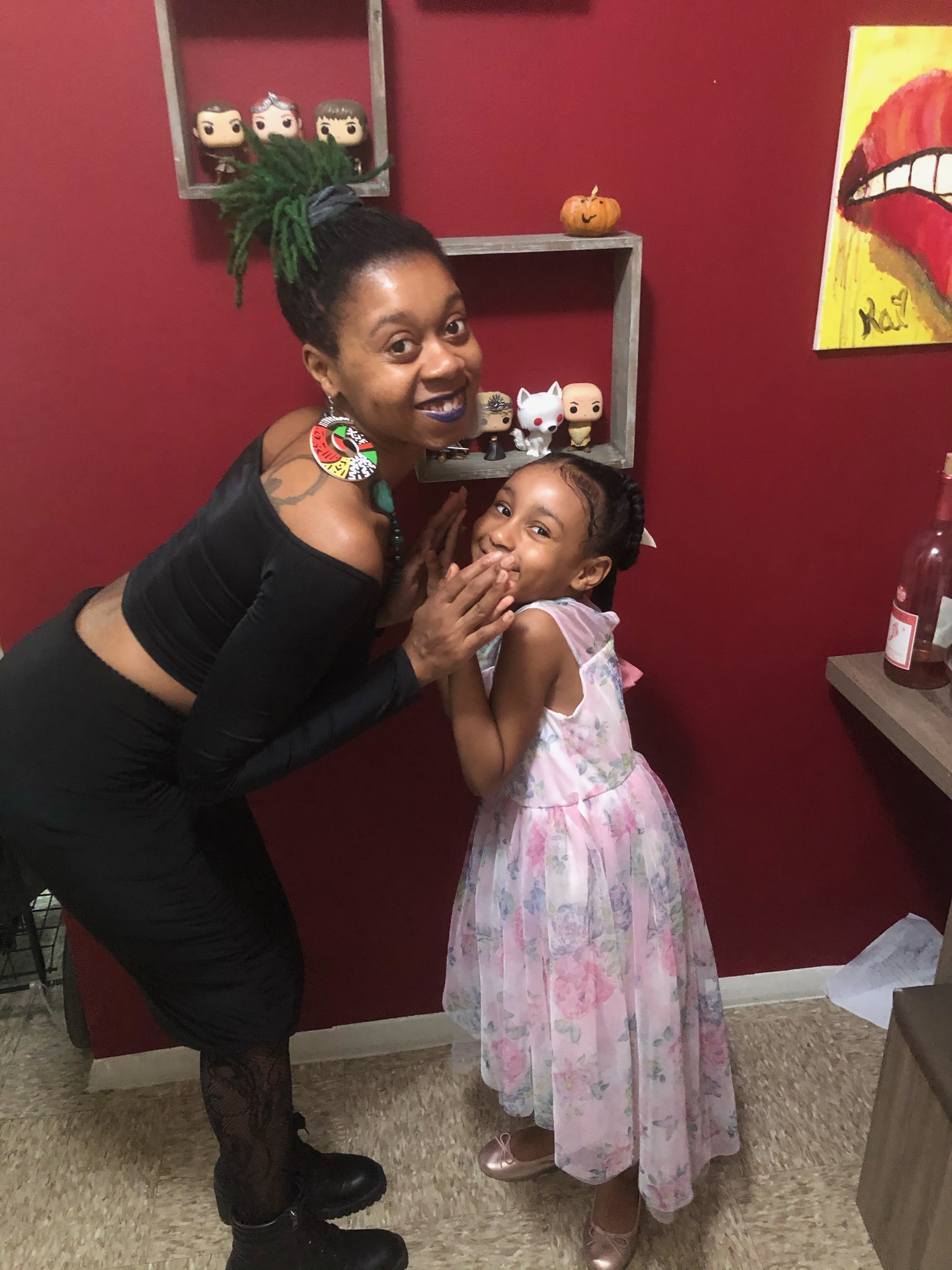 Me and Delilah on Thanksgiving