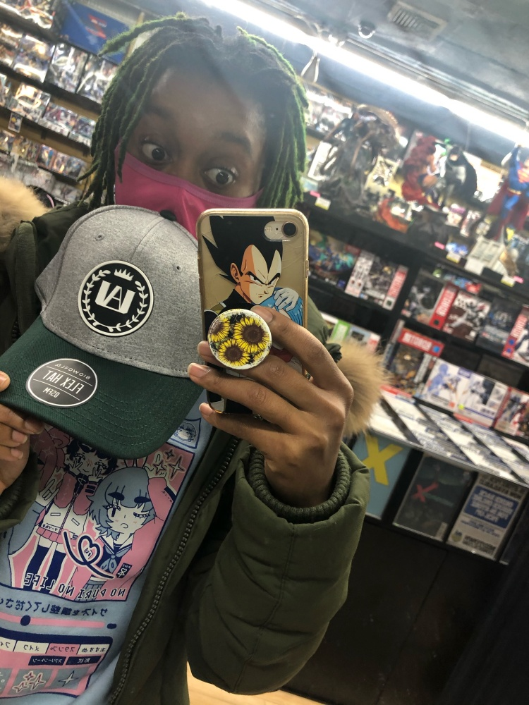 I found this My Hero Academia hat in Midtown Comics